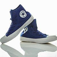 Кеды Converse Chuck Taylor All Star II Sodalite Blue высокие