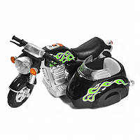 Эл-мобиль SC-881-BLACK мотоцикл 94*59,5*46,5см. 6V*4.5Ah, до 20кг /1/