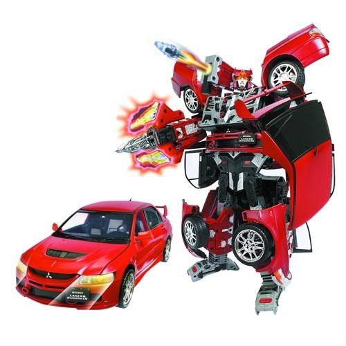 Робот трансформер Mitsubishi Lancer Evolution IX 1:12