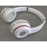 Наушники беспроводные S460  Белый (Bluetooth+SD card+FM+with cable)