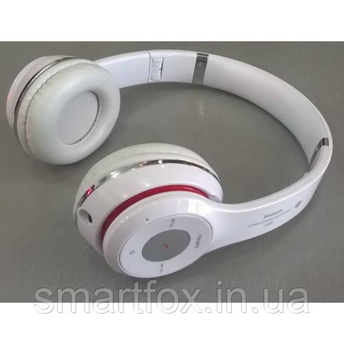 Наушники беспроводные S460  Белый (Bluetooth+SD card+FM+with cable) - Оптово-розничный интернет-магазин Smartfox.in.ua в Одессе