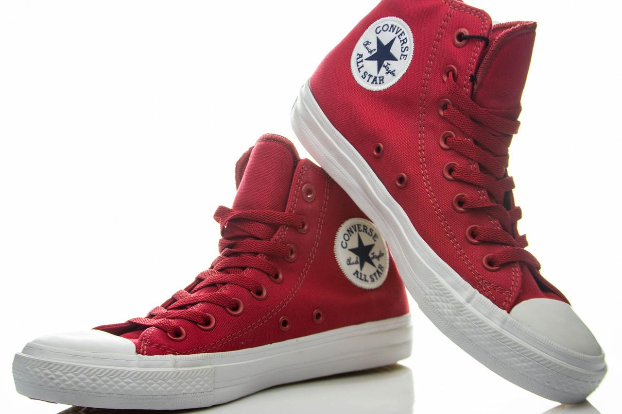 Кеды высокие Converse Chuck Taylor All Star II Salsa Red