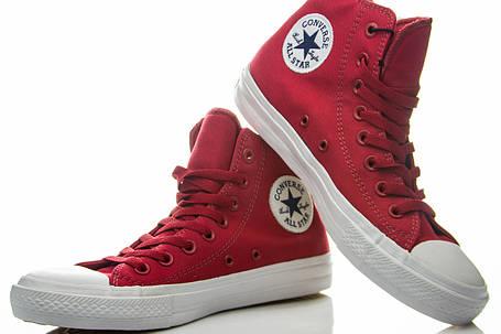 Кеды высокие Converse Chuck Taylor All Star II Salsa Red, фото 2