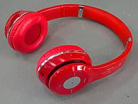 Наушники беспроводные S460 Красный (Bluetooth+SD card+FM+with cable)