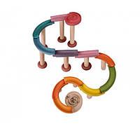 Деревянный игрушка Plan Тoys Мраморный желоб де-люкс (5643)