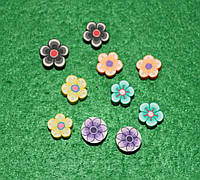 Бусина цветочки-2 457 упаковка 30 шт
