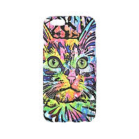 Люминесцентный чехол Animal Case iPhone 5/5S Cat