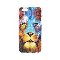 Люминесцентный чехол Animal Case iPhone 5/5S Lion
