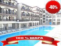 16 600 eur - большая /40м2/ с мебелью и видом на бассейн в к-се Panorama Bay 2 в 200 м от пляжа