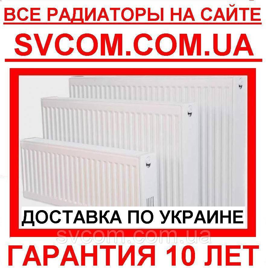 Стальные Радиаторы тип 11,22,33, Низ, Бок, 500/300 высота от Импортёра Турция
