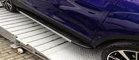 Боковые пороги для Nissan-Juke 2010+ Erkul Duru