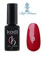 Kodi professional гель лак Коди 03 темно малиновый, эмаль 8мл