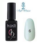 Kodi professional гель лак Коди 06 жемчужный с розовым перламутром 8мл