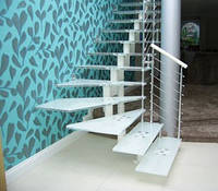 Стеклянные лестницы на косоуре