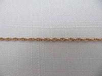 Цепочка золотая 585* ВЕРЕВОЧКА (12533)