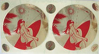 Стикини. Одноразовые накладки на грудь для солярия и пляжа