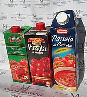 Пассата из помидор Италия 1кг, 3 вида