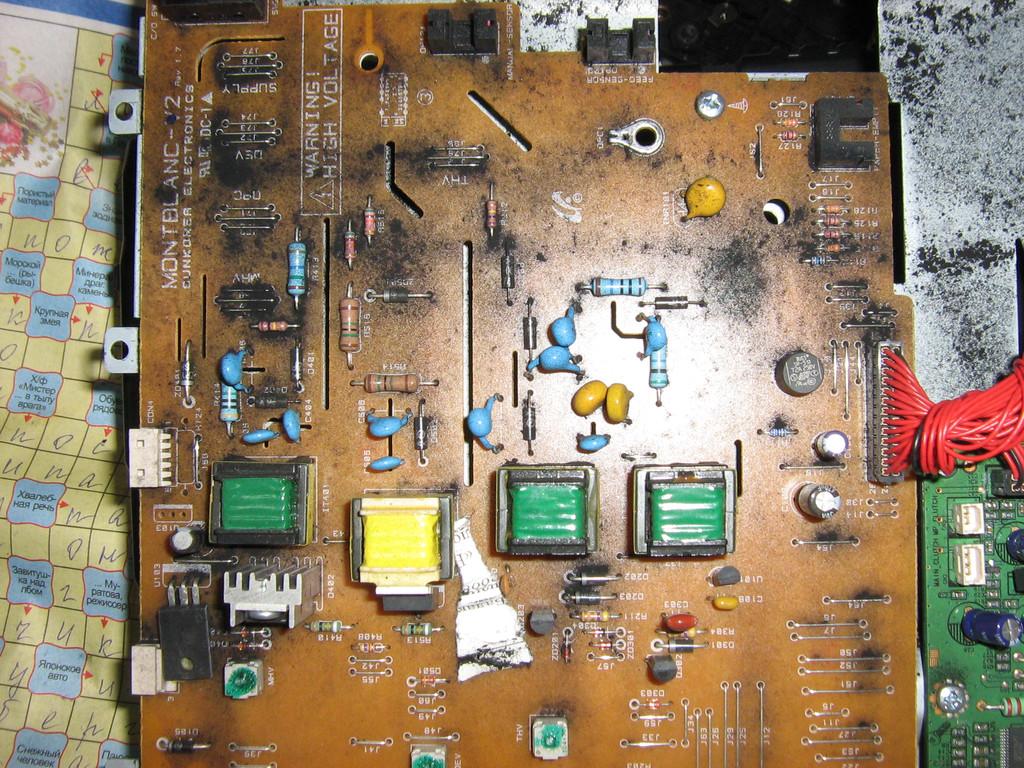 Чистка МФУ Samsung SCX-4200 от просыпей тонера