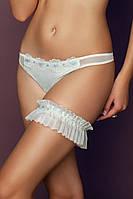 Подвязка из сетки с вышивкой Anabel Arto (Анабель Арто) 8076