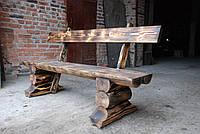 Деревянная скамейка Стрип, фото 1