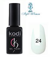 Kodi professional гель лак Коди 24 белая эмаль 8мл