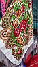 Платок шелковый народный стиль, фото 2