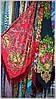 Платок шелковый народный стиль, фото 4