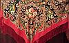 Платок шелковый народный стиль, фото 7