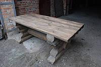 Стол деревянный с эффектом старения, фото 1