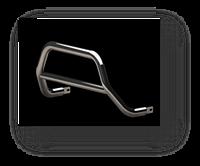 Передняя защита для Mitsubishi Outlander 2010-2012 ST Line