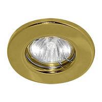Встраиваемый светильник Feron DL10 G5.3 МR-16 золото