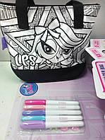 Набор для творчества: Раскрась свою сумочку Littlest Pet Shop