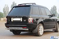 Задняя защита для Land Rover Vogue 04+ ST Line