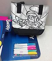 "Набор для творчества: Раскрась свою сумочку ""Smerfy"" (Смурфики)"