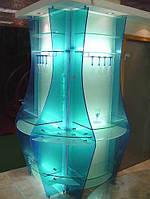Стеклянные витрины, торговое оборудование, фото 1