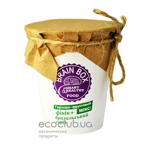 Орехово-фруктовый микс Бразильский орех с финиками Brain Box 70г