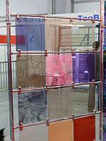 Художественный триплекс (цветной, с тканью и другими материалами)