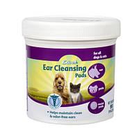 Салфетки 8 in 1, для очищения ушей домашних животных, 90шт