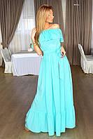 Женское длинное платье в пол 8015 ш