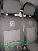 EMC Чехлы на сиденья Volkswagen Transporter 5 Caravelle 2003- (9 мест 1+2/1+2/3)