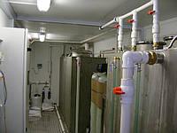 Блочно-модульная установка очистки хоз-бытовых сточных вод БМОС 45 м3/сут