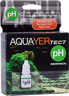 Тест уровня pH AQUAYER