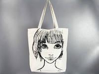 Летняя сумка принт Девушка