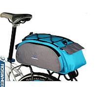 Вместительная спортивная сумка. Сумка для велосипеда. Сумка для поездок. Купить велосумку. Код: КДН12