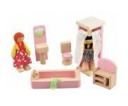 Деревянная мебель для ванной комнаты РУДИ Д274