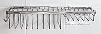 Полка в ванную с двумя заглушками Long 75019-3