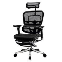 Кресло компьютерное ERGOHUMAN PLUS COMFORT SEATING  c подставкой для ног