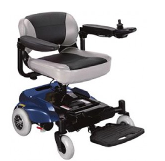 Инвалидная коляска с электроприводом комнатная, Rio Chair, OSD (Италия), фото 2