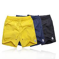 Мужские шорты для плавания от Moncler  с сетчатой подкладкой, быстросохнущий материал