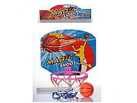 Баскетбольное кольцо M 2652 щит 30-25 см(пластик),кольцо 20 см(пластик)мяч
